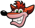 Crash Bandicoot N. Sane Trilogy Crash Bandicoot Pause Menu Icon.png