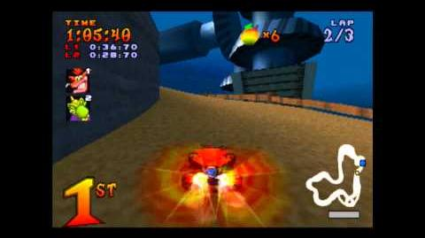 Komodo Joe's Challenge - Boss 3 - Crash Team Racing - 101% Playthrough (Part 15)