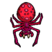 Spider sticker