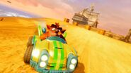 Crash Team Racing Nitro-Fueled Team Oxide Kart