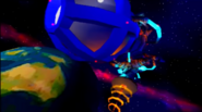 Cortex strikes back earth