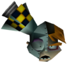 Doctor N. Gin Head in Vortex Crash Bandicoot 3 Warped