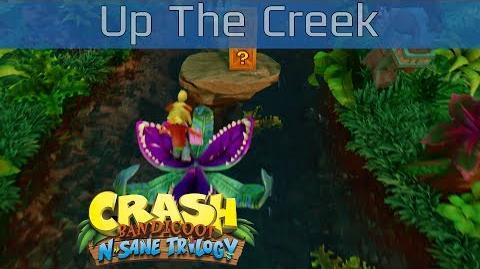 Crash Bandicoot N. Sane Trilogy - Up The Creek 100% Gems Walkthrough -HD 1080P-