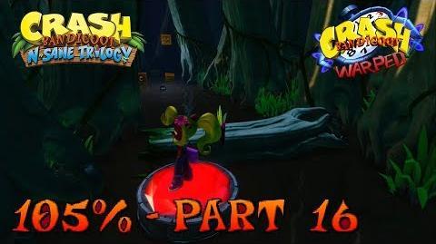 Crash Bandicoot 3 - N. Sane Trilogy - 105% Walkthrough, Part 16 Bone Yard (Bonus Gem)