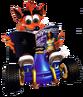 CrashReadingPlaystationMagazine