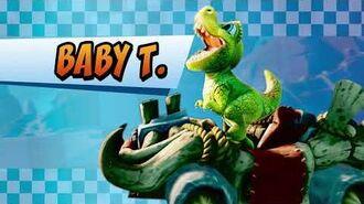 Baby T. Crash Team Racing Nitro-Fueled