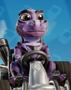 Baby t purple