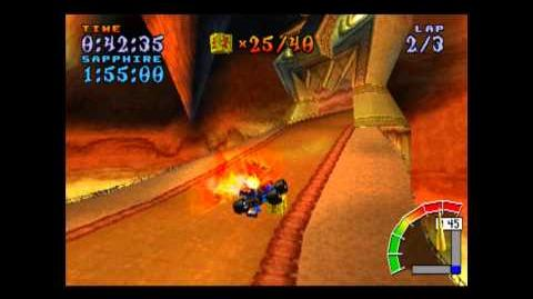 Mystery Caves - Platinum Relic - Crash Team Racing - 101% Playthrough (Part 44)