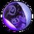 Spectral purple paint