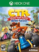 CTR Nitro Fueled XB1 Cover Art