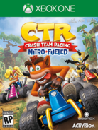 CTR Nitro Fueled XB1 Cover Art