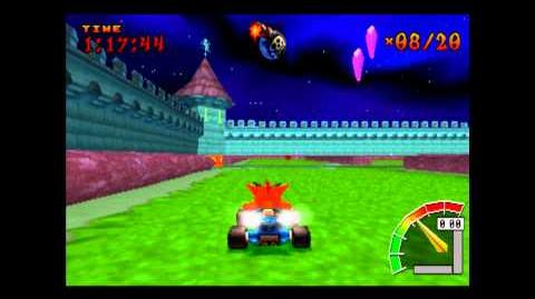 Nitro Court - CTR Challenge - Crash Team Racing - 101% Playthrough (Part 37)-0