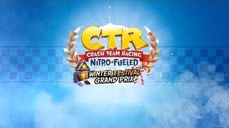 Crash Team Racing Nitro-Fueled – Winter Festival Grand Prix Intro