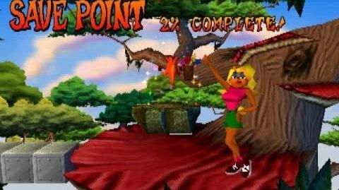 Crash Bandicoot - E3 Beta Version, Part 2 Jungle Rollers