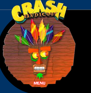 Aku Aku Crash Website 1
