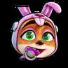 CTRNF-Rabbit PJ Baby Coco