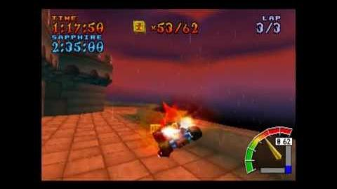 Cortex Castle - Platinum Relic - Crash Team Racing - 101% Playthrough (Part 55)