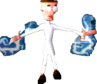Crash Bandicoot Electric Lab Assistant