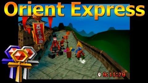 Orient Express - Platinum Relic - Crash Bandicoot 3 Warped - 105% Playthrough (Part 30)