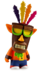 Kidrobot mini crash with aku aku