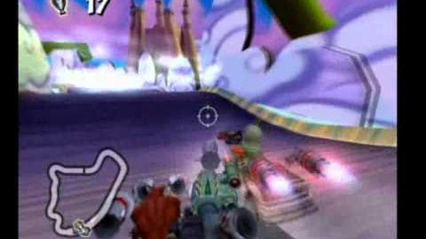 Crash Tag Team Racing - Track and the Beanstalk