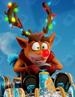 Crash reindeer
