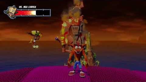 Crash Bandicoot 1 N. Sane Trilogy Final Boss Dr. Neo Cortex and Ending