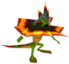 Crash Bandicoot 2 Cortex Strikes Back Spiked Lizard