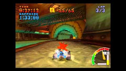 Sewer Speedway - Platinum Relic - Crash Team Racing - 101% Playthrough (Part 45)