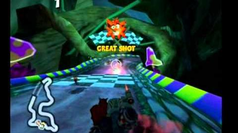 Crash Tag Team Racing- Evilocity
