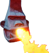 Crash Bandicoot N. Sane Trilogy Fire Breathing Tiki