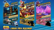 Crash Team Racing Nitro-Fueled New Grand Prix Themes