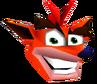 CTR Crash Bandicoot Head