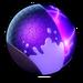 Atomic purple paint
