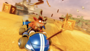 Crash Team Racing Nitro-Fueled Team Bandicoot Kart