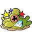Twinsanity squashed worm icon