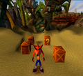 Crash 1 Early Nsanity Beach Proto.png