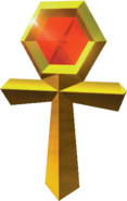 Crash Team Racing Gold Relic