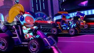 Crash Team Racing Nitro-Fueled – Electron Skins Trailer
