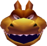 Crash Bandicoot 3 Warped Dingodile Head in Vortex