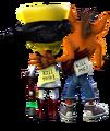 Crash Twinsanity Crash Bandicoot Doctor Neo Cortex.png
