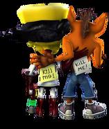 Crash Twinsanity Crash Bandicoot Doctor Neo Cortex