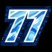 Seventy Seven Sticker