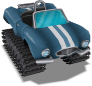 BlueTestcarRender