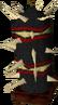 Crash Bandicoot Stationary Spiked Pillar