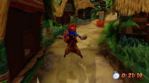 Crash Bandicoot Remaster - Whole Hog, Platinum Relic-1