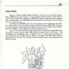 Konzeptart von Aku Aku