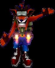 Crash com seu jetpack