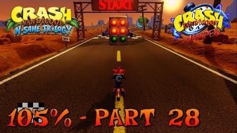 Crash Bandicoot N. Sane Trilogy - Orange Asphalt