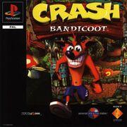 Crash Bandicoot 1 - Front